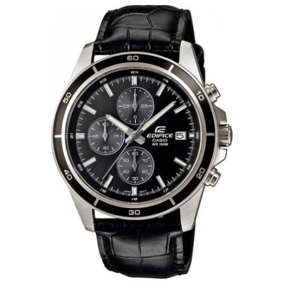 Casio EDIFICE EFR 526L-1A Vodeodolnosť 100m, Quartz Chronograf, 44mm