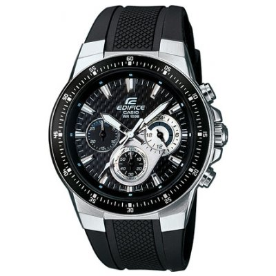 Casio EDIFICE EF 552-1A Vodeodolnosť 100m, Quartz Chronograf, 43.8 mm