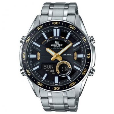 Casio EDIFICE EFV C100D-1B Vode odolnosť 100M ,Quartz Chronograf, 49 mm
