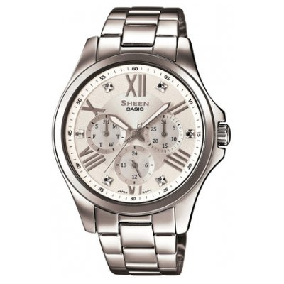 Casio SHEEN SHE 3806D-7A Quartz, 39 mm