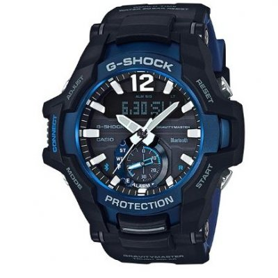 Casio G-SHOCK GR B100-1A2 Bluetooth, Quartz, 52.4 mm
