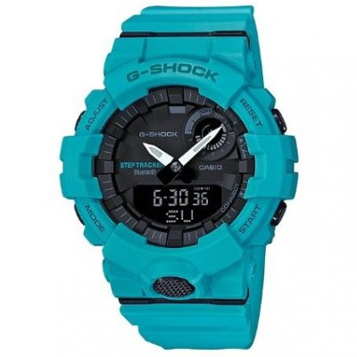 Casio G-SHOCK GBA 800-2A2 Step Counter,Water resistance 200M, 54.10 mm