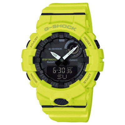 Casio G-SHOCK GBA 800-9A Bluetooth, Krokomer, Vode odolnosť 200M, 54.10 mm