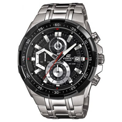 Casio EDIFICE EFR 539D-1A Vode odolnosť 100M, Quartz Chronograf, 49.5 mm