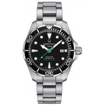 Certina DS Action Diver C032.407.11.051.02 Powermatic 80, Vode odolnosť 300M, 43 mm