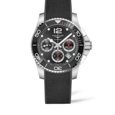 Longines HydroConquest L37834569 Water resistance 300M, Quartz Chronograph, 41 mm