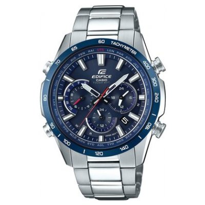 Casio EDIFICE EQW T650DB-2A Vode odolnosť 100M, Quartz Chronograf, 43 mm