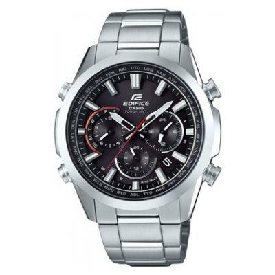Casio EDIFICE EQW T650D-1A Vode odolnosť 100M, Quartz Chronograf, 43 mm