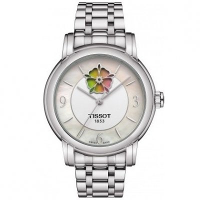 Tissot T-Classic LADY HEART FLOWER T050.207.11.117.05 Powermatic 80, Automat, 35 mm