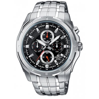 Casio EDIFICE EF 328D-1A Vode odolnosť 100M, Quartz Chronograf, 44.8 mm