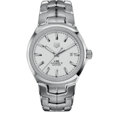 TAG Heuer Link Calibre 5 WBC2111.BA0603 Water resistance 100M, Automatic, 41 mm