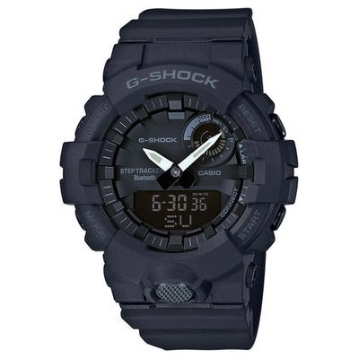 Casio G-SHOCK GBA 800-1A Bluetooth, Krokomer, Vode odolnosť 200M, 54.10 mm
