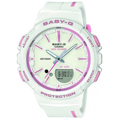 Casio BABY-G BGS 100RT-7A Vode odolnosť 100M, STEP TRACKER, 42.6 mm