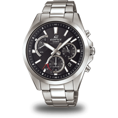 Casio EDIFICE EFS S530D-1A Vode odolnosť 100M, Quartz Chronograf, 46 mm