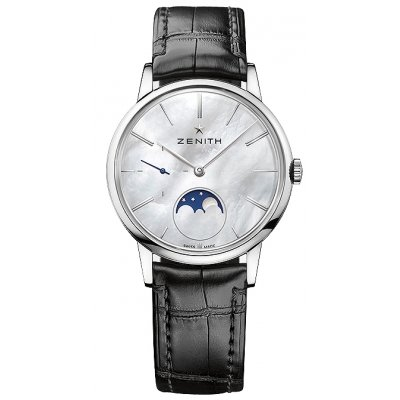 Zenith ELITE Lady Moonphase 36 mm 03.2320.692/80.C714 Mesačné fázy, Automat, 36 mm