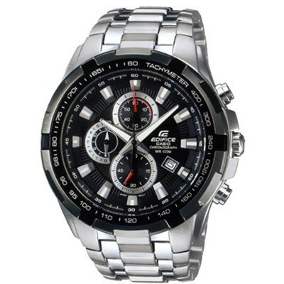 Casio EDIFICE EF 539D-1A Vode odolnosť 100M, Quartz Chronograf, 48.5 mm