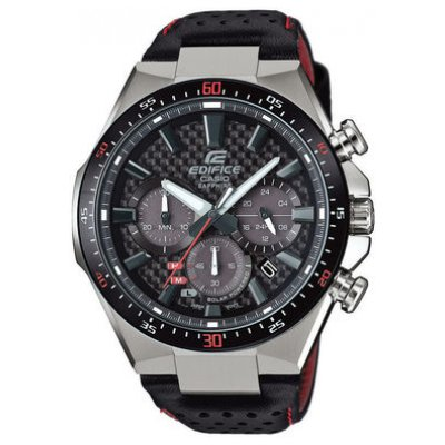 Casio EDIFICE EFS S520CBL-1A Sapphire Crystal, Solar, Water resistance 100M, 47.5 mm