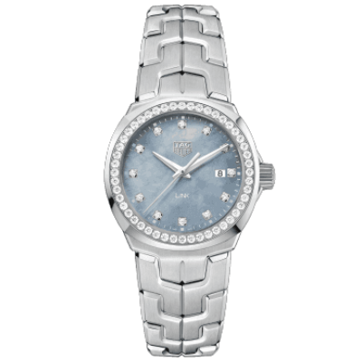 TAG Heuer Link WBC1319.BA0600 Quartz, 32 mm, Mother of Pearl Dial, Diamonds