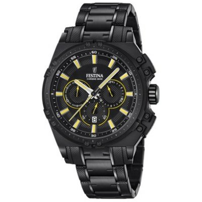 Festina Chrono bike 16969/3 Water resistance 100M, Quartz Chronograph, 44 mm