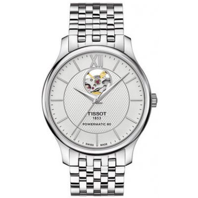 Tissot T-Classic T063.907.11.038.00 Powermatic 80, Open Heart, 40 mm