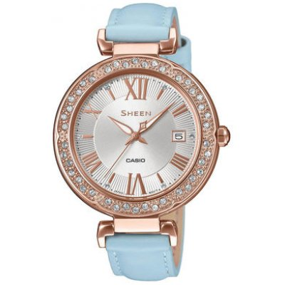 Casio SHEEN SHE 4057PGL-7B SWAROVSKI, Quartz, 36 mm