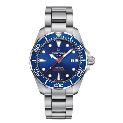 Certina DS Action C032.407.11.041.00 Automatic, Water resistance 300M, 43 mm