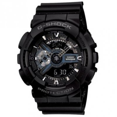 Casio G-SHOCK GA 110-1B Water resistance 200M, Quartz, 51.2 mm