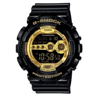 Casio G-SHOCK GD 100GB-1 Vode odolnosť 200M, Quartz, 51,2 mm