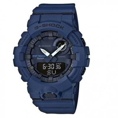 Casio G-SHOCK GBA 800-2A Step Counter,Water resistance 200M, 54.10 mm
