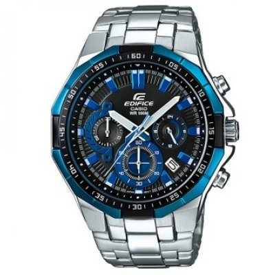Casio EDIFICE EFR 554D-1A2 Vode odolnosť 100M, Quartz Chronograf, 45 mm