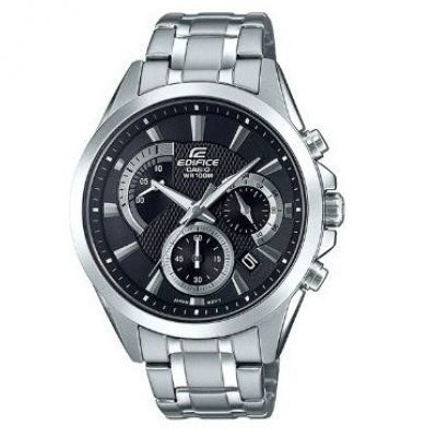 Casio EDIFICE EFV 580D-1A Quartz, Chronograf, 43.80 mm