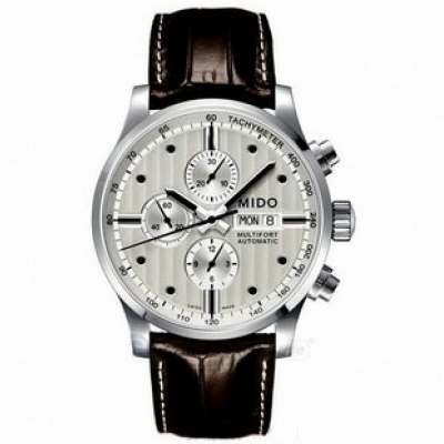 Mido Multifort Chronograph M0056141603100 Automat Chronograph, Water resistance 100M, 44 mm