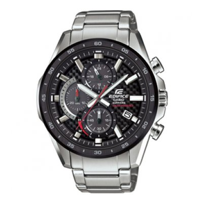 Casio EDIFICE EFS S540DB-1A Vode odolnosť 100M, Quartz Chronograf, 46 mm