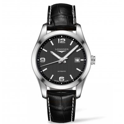 Longines Conquest Classic L27854563 Kožený reminok, Automat, 40 mm