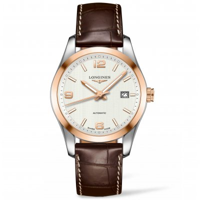 Longines Conquest Classic L27855763 Leather Strap, Automatic, 40 mm