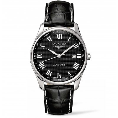 Longines Master Collection L28934517 Kožený remienok, Automat, 42 mm