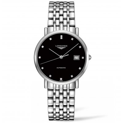 Longines Elegant Collection L48104576 Diamanty, Automat, 37 mm