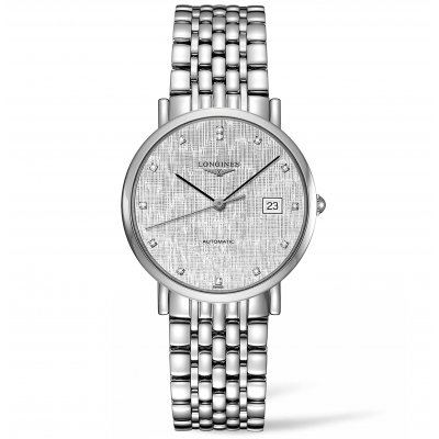 Longines Elegant Collection L48104776 Diamanty, Automat, 37 mm