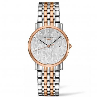 Longines Elegant Collection L48095777 Diamanty, Automat, 34.50 mm