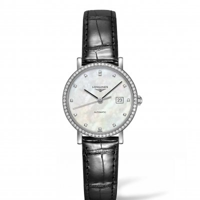 Longines Elegant Collection L43104872 Diamanty, Automat, 29 mm
