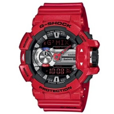 Casio G-SHOCK GBA 400-4A Bluetooth, Quartz, 53 mm