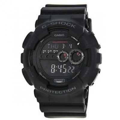Casio G-SHOCK GD 100-1B Water resistance 200M, Quartz, 51,2 mm