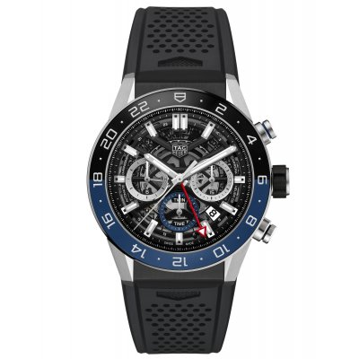 TAG Heuer Carrera CBG2A1Z.FT6157 HEUER 02, GMT, 45 mm