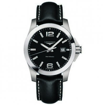 Longines Conquest L37594583 Quartz, Vodeodolnosť 300 m, 41 mm