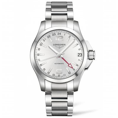 Longines Conquest L36874766 Dual time, Automatic, 41 mm