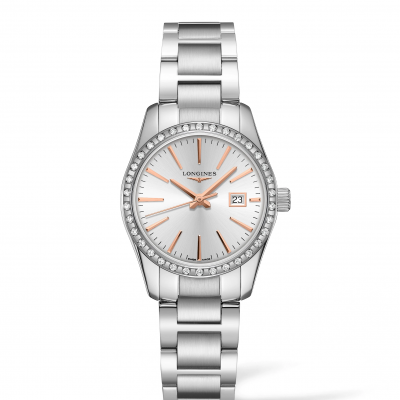 Longines Conquest Classic L22860726 Diamanty, Quartz, 29.50 mm
