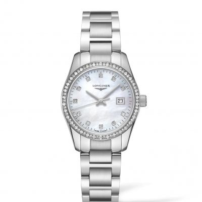 Longines Conquest Classic L22860876 Diamanty, Quartz, 29.50 mm