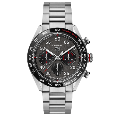 TAG Heuer Carrera TAG HEUER X PORSCHE SPECIAL EDITION CBN2A1F.BA0643 HEUER 02, Water resistant 100M, 44 mm