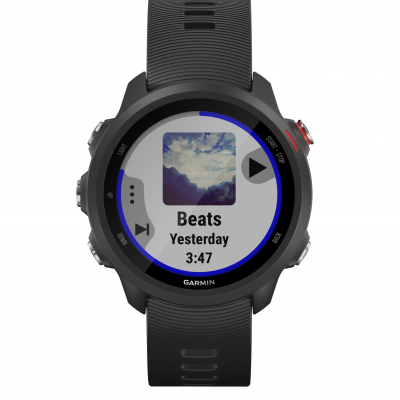 Garmin Forerunner 245 Music Black 010-02120-30 42.3 mm, Corning Gorilla® Glass, Vode odolnosť 50M