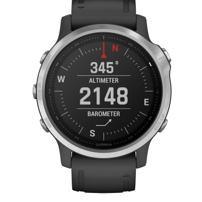 Garmin Fenix 6S, Silver 010-02159-01 42 mm, Sklíčko Corning® Gorilla® Glass